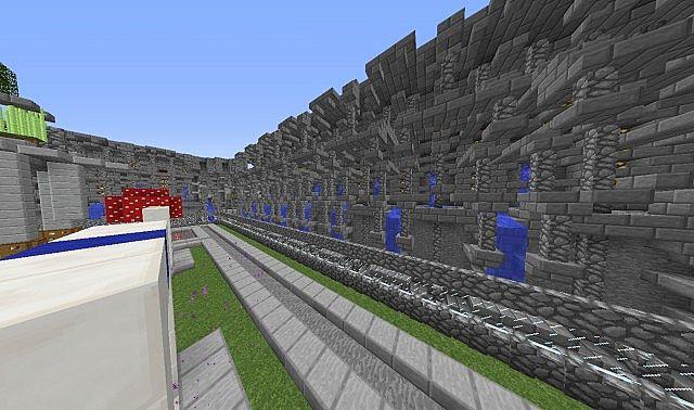 Minecraft Server Hub Map
