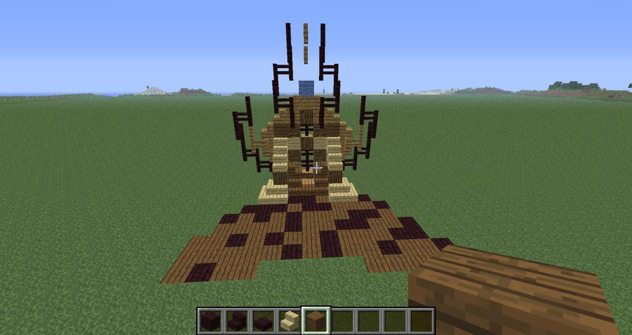 Minecraft Throne Room Design