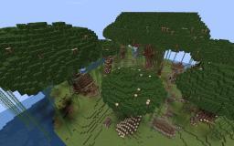 Elvish/Nordic Server Spawn Minecraft Map & Project