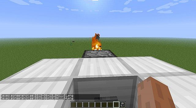 how to make a tank in minecraft that shoots