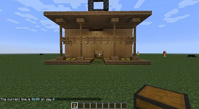 Super House Model Minecraft Project