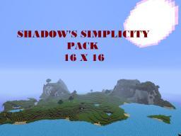 Shadow's Simplicity Pack[1.7.4][16x16] Minecraft