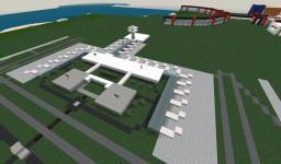 The Largest Realistic Modern Airport in Minecraft Minecraft