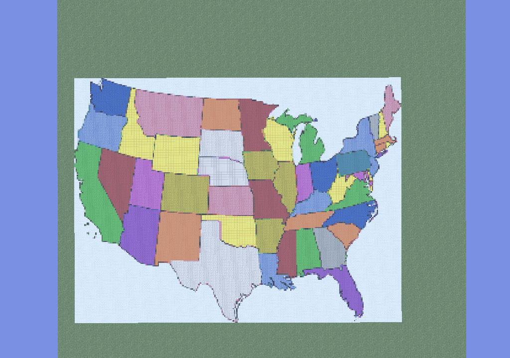 USA Map Minecraft Project - Minecraft us map