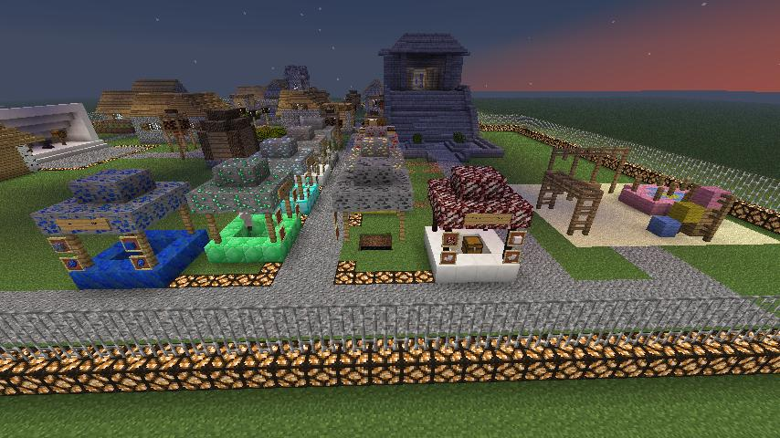 how to build hunger games in minecraft