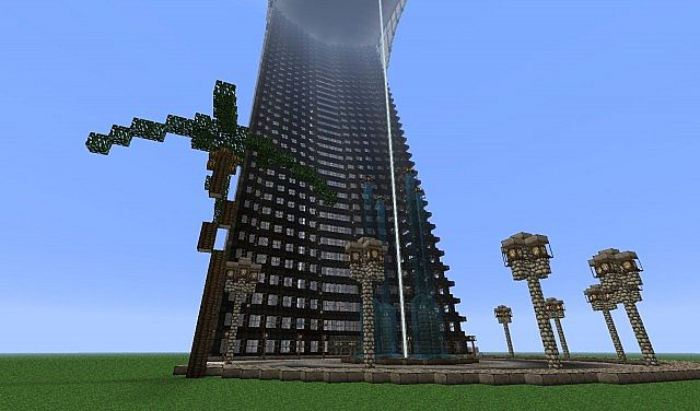 minecraft how to build stark tower