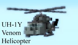UH-1Y Venom - Helicopter Minecraft Map & Project