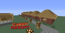 Cyber Resort Minecraft Map & Project