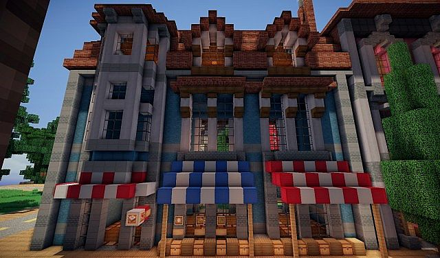 Market street varhalley minecraft project for Craft com online shopping