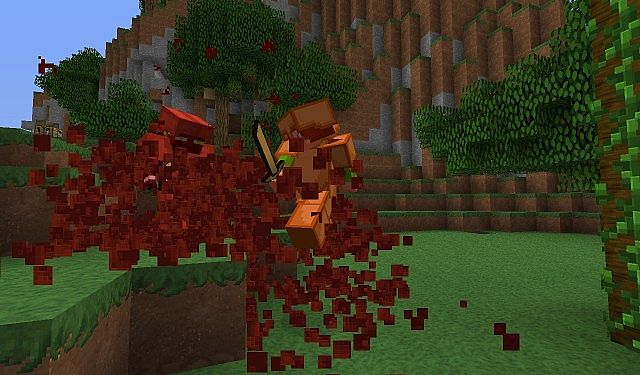 ❤blood plugin for minecraft [[1. 7. 10! ]] bleed in minecraft.