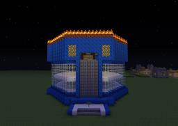 Spleef Arena - 3 Layers Minecraft Map & Project