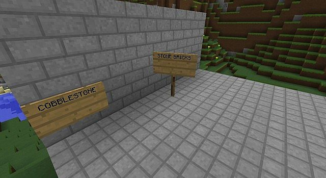 new stone bricks