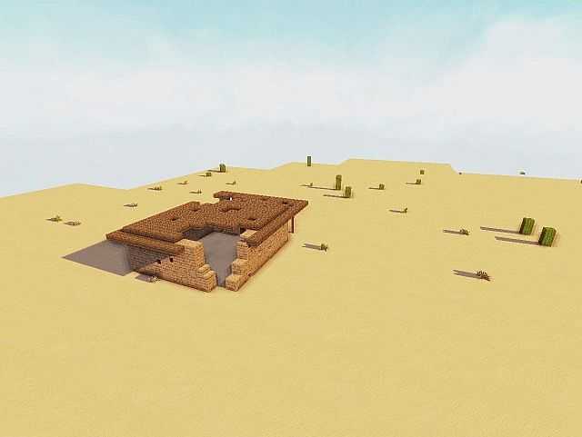 Desert Ruins Minecraft Project