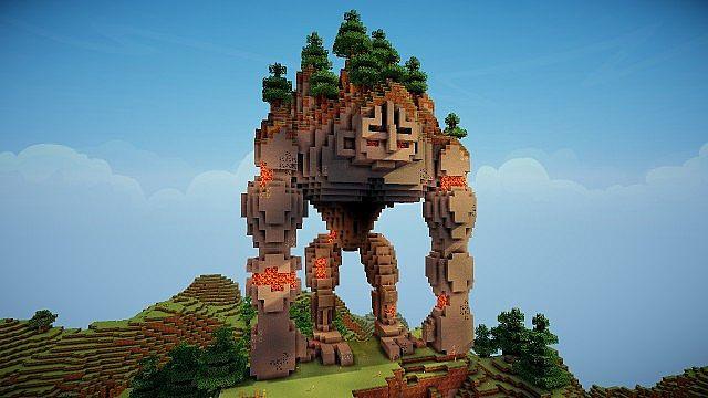 Minecraft Stone Guardian