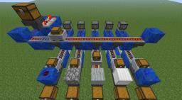 The sorting machine Minecraft Map & Project