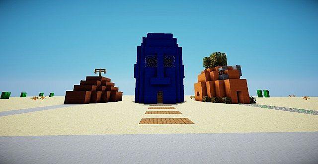 The Houses Of Spongebob U0026 39 S Minecraft Project