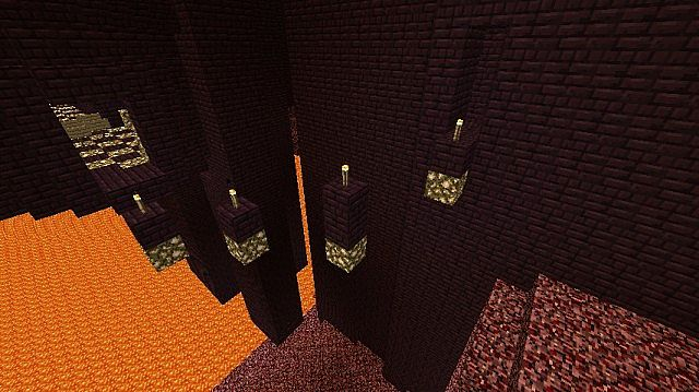 Other part of the nether parkour.