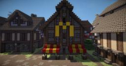 Medieval MC DONALDS Minecraft Project