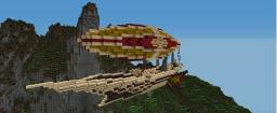 Merchant Airship. Minecraft Map & Project