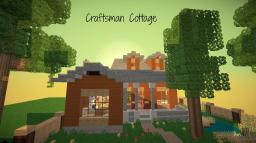 Craftsman Cottage Minecraft Map & Project
