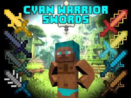 [1.7.10/1.6.4][Forge] Cyan Warrior Swords Mod  v.2.1.2 (+30 Swords) CYAN WARRIOR SWORD NEW EFFECT! Minecraft