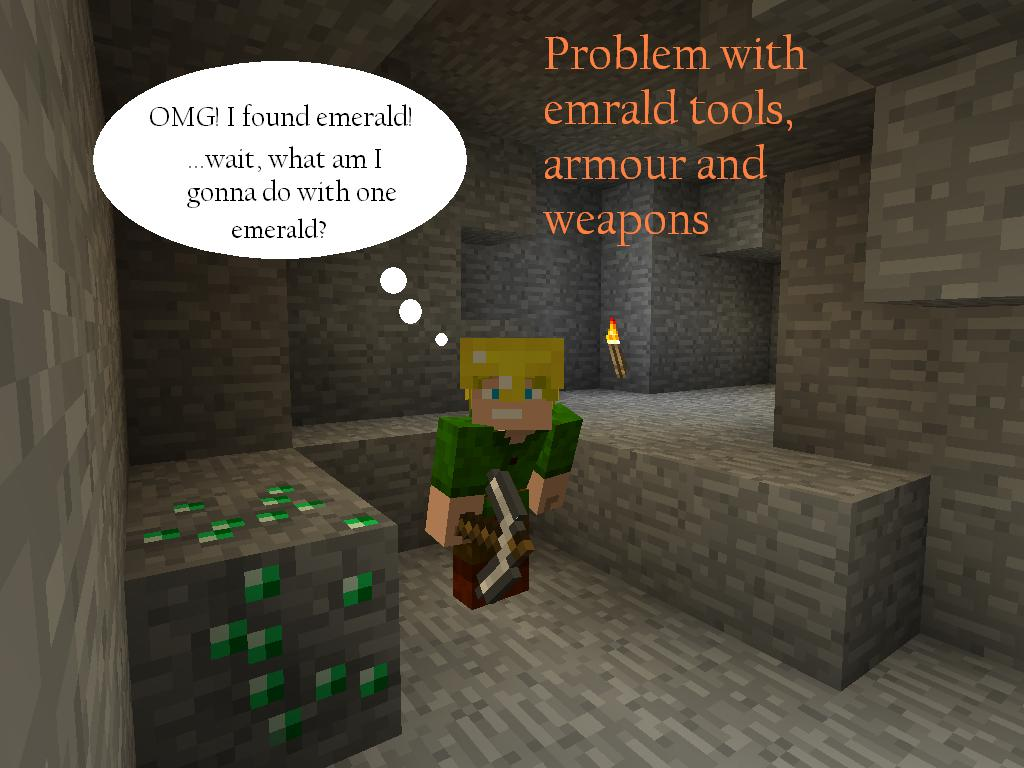 All Things You Can Craft With Emeralds