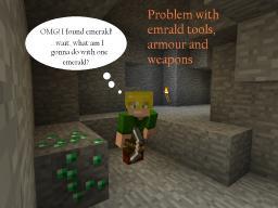 Emerald Tools Minecraft Blog