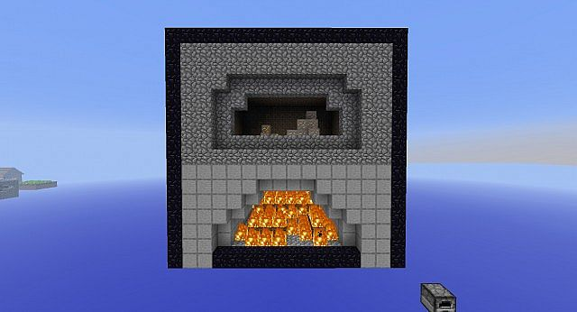 A giant furnace minecraft project for How to craft a furnace in minecraft