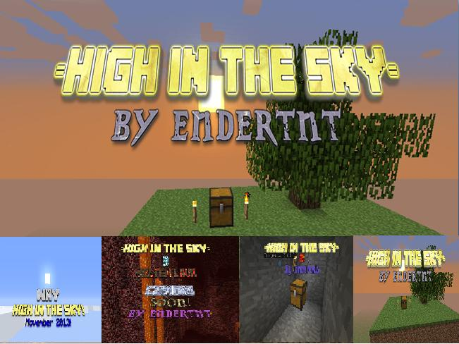 High in the Sky! HIGHLIGHTS Minecraft Blog