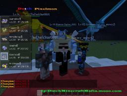 Dutch Pixelmon Minecraft Server