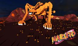 Kyubi Ninetails Fox Minecraft Map & Project