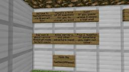 25 Question Minecraft Quiz [All Questions Complete!] Minecraft Map & Project