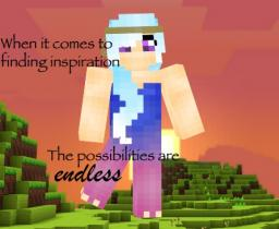 ❤A❤ Finding Inspiration For Making Skins (popular reel) Minecraft Blog Post