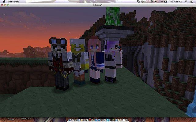 meet people minecraft server