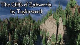 The Cliffs of Zahvoriia ~ A Harsh, Stark Region Minecraft Map & Project