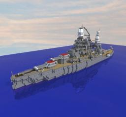 USS Arizona BB-39 || 1:1 Scale Minecraft Map & Project