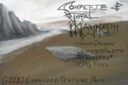 Complete & Total Mayhem - x128 Expanded Texture Pack -  MCPatcher will be NEEDED!  [alpha 0.1.5]