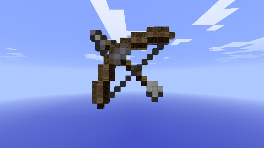 Bow And Arrow Mini Game Minecraft Project