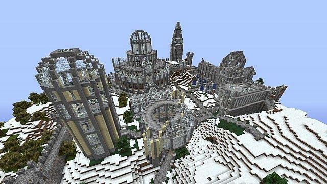 Modern Castle Minecraft