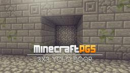 3x3 YOLO Door - TNT - Minecraft