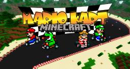 MARIO KART Minecraft - NO MODS - playable - Item Boxes & Power Ups - with TP Minecraft
