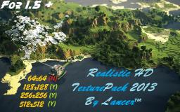 Big Realistic 1.5+ HD 512x512 By Lancer Minecraft Texture Pack