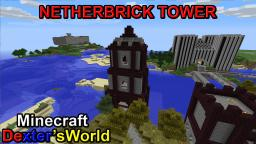 Timelapse Netherbrick Tower Minecraft Map & Project