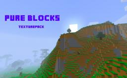 Pure Blocks texturepack Minecraft Texture Pack