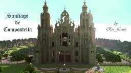 Santiago de Compostella Minecraft Map & Project