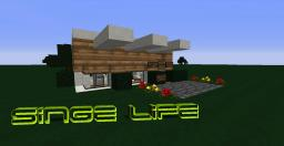 Single-Life Modern House Minecraft Map & Project