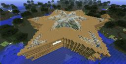 Star-shaped house Minecraft Map & Project