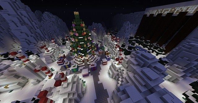 WinterWonderland map on MCBall.