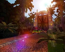 Jurassic Park Isla Nublar map Minecraft Map & Project