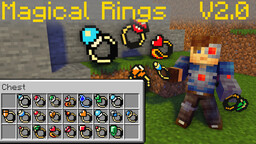 Zelda Magical Rings [Data Pack] 1.16.3+ Minecraft Data Pack